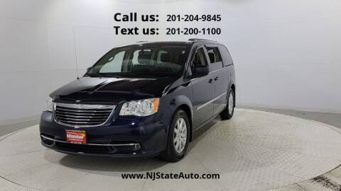 2016 Chrysler Town and Country for sale at NJ State Auto Used Cars in Jersey City NJ