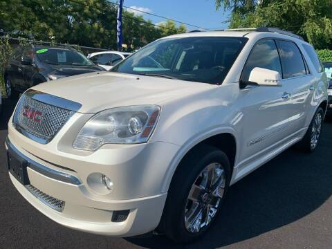 2012 GMC Acadia for sale at TD MOTOR LEASING LLC in Staten Island NY