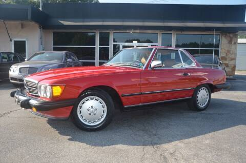 1989 Mercedes-Benz 560-Class for sale at Amyn Motors Inc. in Tucker GA