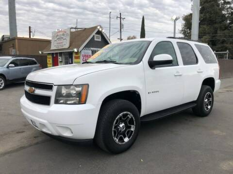 2009 Chevrolet Tahoe for sale at C J Auto Sales in Riverbank CA
