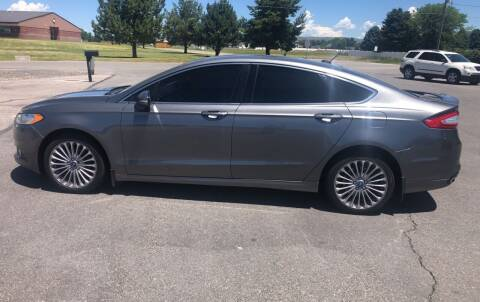 2013 Ford Fusion for sale at Preston Hometown Auto in Preston ID