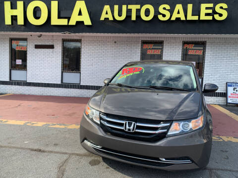 2014 Honda Odyssey for sale at HOLA AUTO SALES CHAMBLEE- BUY HERE PAY HERE - in Atlanta GA