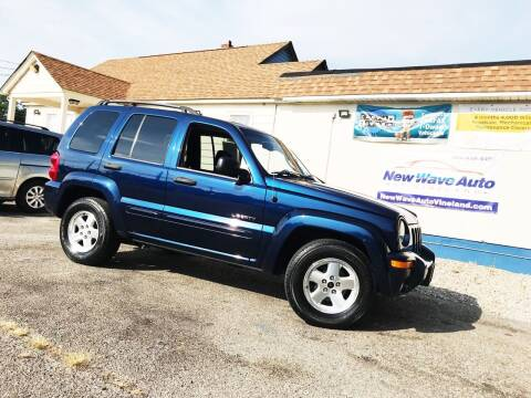2004 Jeep Liberty for sale at New Wave Auto of Vineland in Vineland NJ