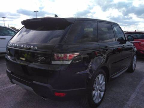 2016 Land Rover Range Rover Sport for sale at Auto Finance of Raleigh in Raleigh NC