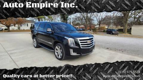 2016 Cadillac Escalade for sale at Auto Empire Inc. in Murfreesboro TN