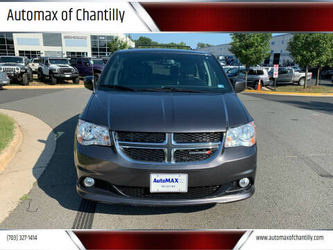 2018 Dodge Grand Caravan for sale at Automax of Chantilly in Chantilly VA