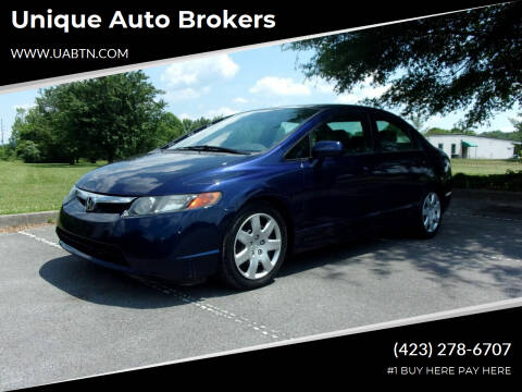 2006 Honda Civic for sale at Unique Auto Brokers in Kingsport TN