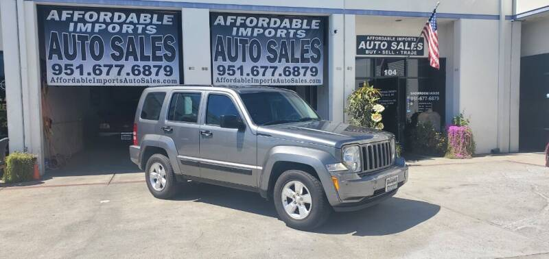 2012 Jeep Liberty for sale at Affordable Imports Auto Sales in Murrieta CA