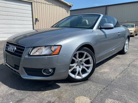 2010 Audi A5 for sale at Driving Xcellence in Jeffersonville IN