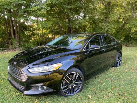 2016 Ford Fusion for sale at Kenny Vice Ford Sales Inc - USED Vehicle Inventory in Ladoga IN