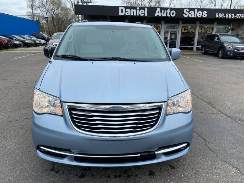 2013 Chrysler Town and Country for sale at Daniel Auto Sales inc in Clinton Township MI