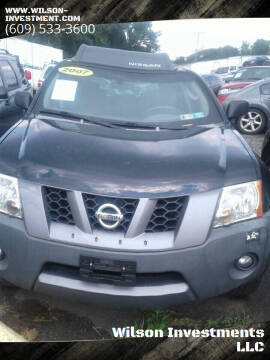 2007 Nissan Xterra for sale at Wilson Investments LLC in Ewing NJ