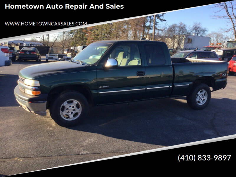 2002 Chevrolet Silverado 1500 for sale at Hometown Auto Repair and Sales in Finksburg MD
