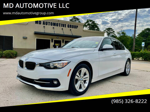 2016 BMW 3 Series for sale at MD AUTOMOTIVE LLC in Slidell LA