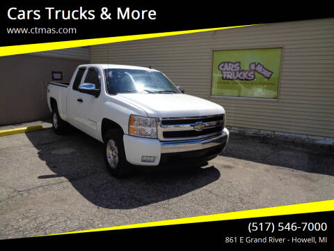 2008 Chevrolet Silverado 1500 for sale at Cars Trucks & More in Howell MI