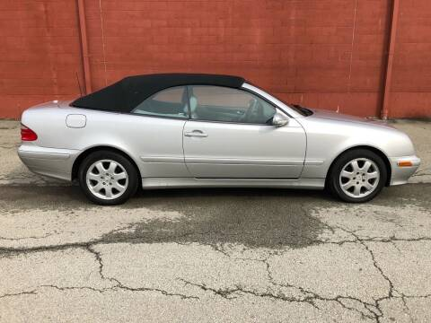2003 Mercedes-Benz CLK for sale at ELIZABETH AUTO SALES in Elizabeth PA