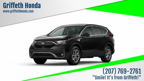 2021 Honda CR-V for sale at Griffeth Honda in Presque Isle ME