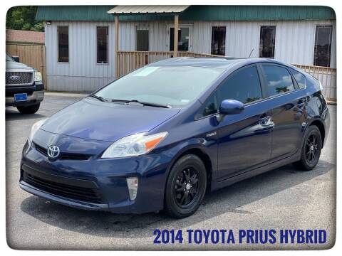 2014 Toyota Prius for sale at ASTRO MOTORS in Houston TX