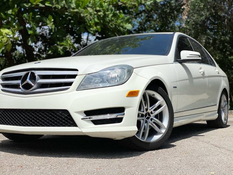 2012 Mercedes-Benz C-Class for sale at HIGH PERFORMANCE MOTORS in Hollywood FL