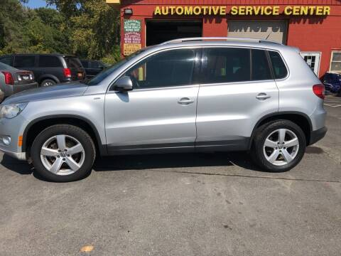 2010 Volkswagen Tiguan for sale at ASC Auto Sales in Marcy NY