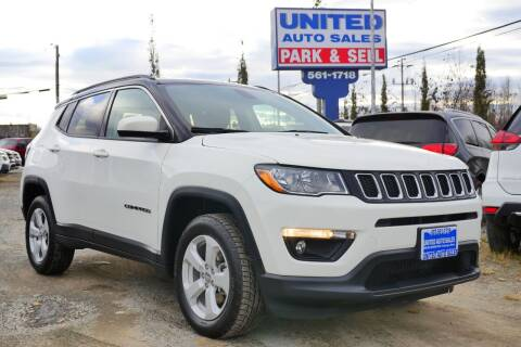 2019 Jeep Compass for sale at United Auto Sales in Anchorage AK