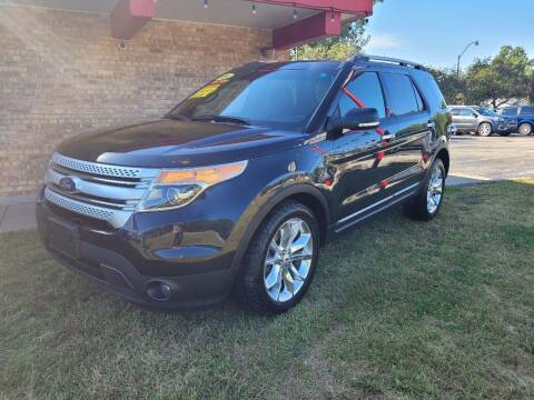 2014 Ford Explorer for sale at Murdock Used Cars in Niles MI