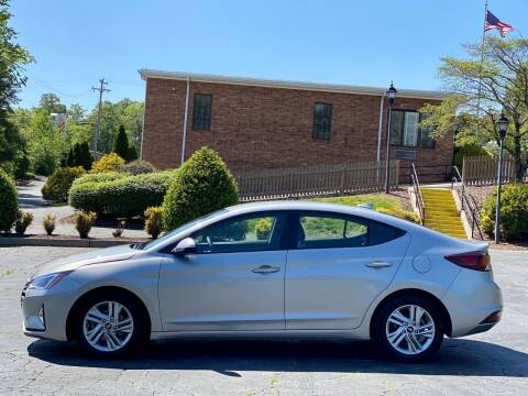 2020 Hyundai Elantra for sale at Sebar Inc. in Greensboro NC