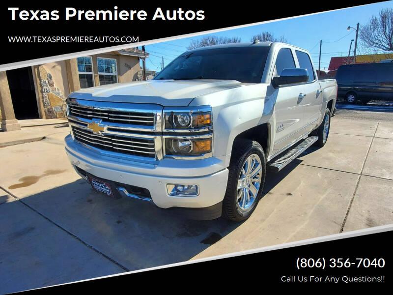 2014 Chevrolet Silverado 1500 for sale at Texas Premiere Autos in Amarillo TX