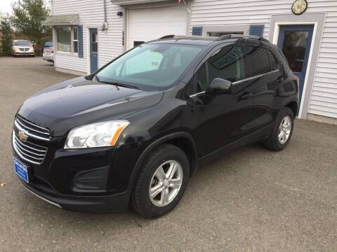 2016 Chevrolet Trax for sale at CLARKS AUTO SALES INC in Houlton ME