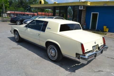 1984 Cadillac Eldorado for sale at Preferable Auto LLC in Houston TX
