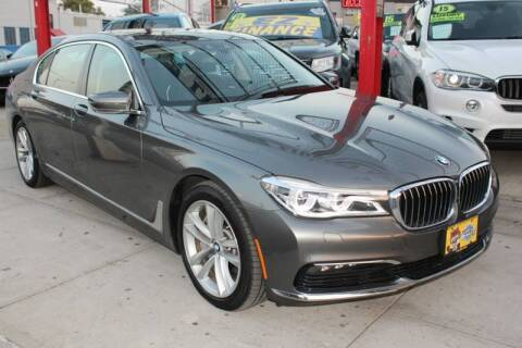 2016 BMW 7 Series for sale at LIBERTY AUTOLAND INC in Jamaica NY