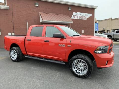 2016 RAM Ram Pickup 1500 for sale at Middle Tennessee Auto Brokers LLC in Gallatin TN