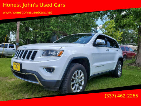 2015 Jeep Grand Cherokee for sale at Honest John's Used Cars in Deridder LA