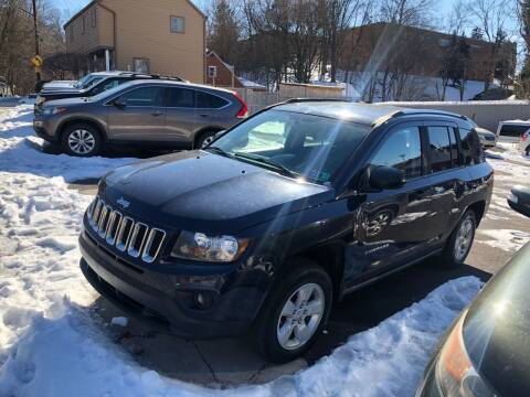 2014 Jeep Compass for sale at Fellini Auto Sales & Service LLC in Pittsburgh PA