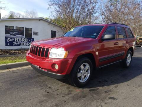 2006 Jeep Grand Cherokee for sale at TR MOTORS in Gastonia NC