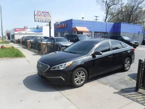 2015 Hyundai Sonata for sale at City Motors Auto Sale LLC in Redford MI