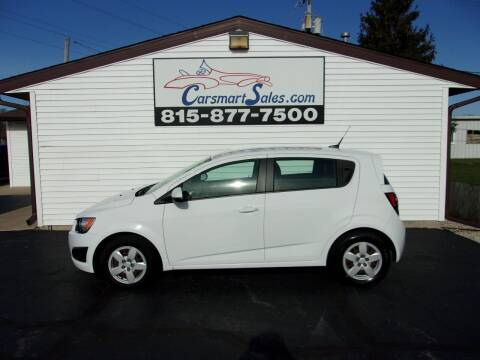 2014 Chevrolet Sonic for sale at CARSMART SALES INC in Loves Park IL