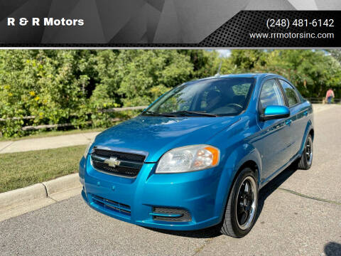 2009 Chevrolet Aveo for sale at R & R Motors in Waterford MI