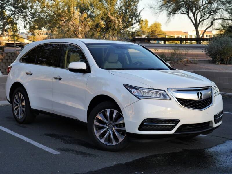 2015 Acura MDX for sale at AZGT LLC in Mesa AZ