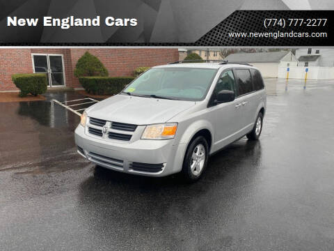 2010 Dodge Grand Caravan for sale at New England Cars in Attleboro MA