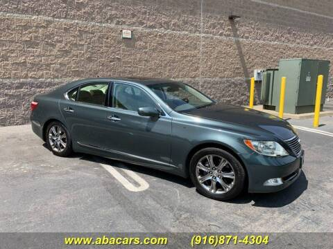2007 Lexus LS 460 for sale at About New Auto Sales in Lincoln CA