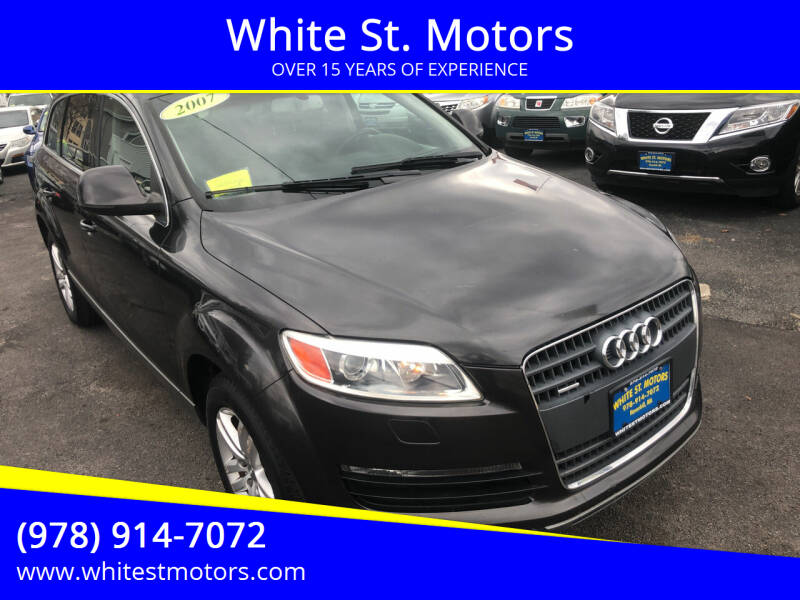 2007 Audi Q7 for sale at White St. Motors in Haverhill MA