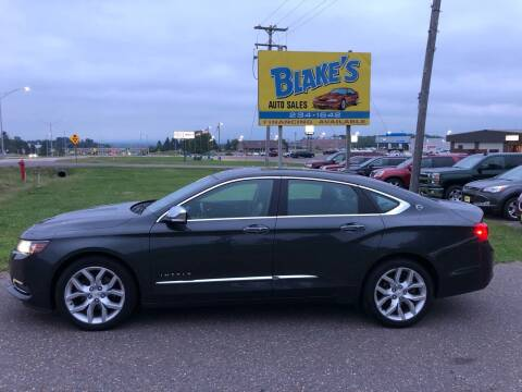 2015 Chevrolet Impala for sale at Blake's Auto Sales in Rice Lake WI