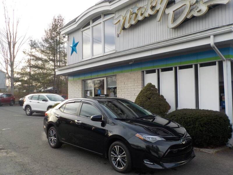 2018 Toyota Corolla for sale at Nicky D's in Easthampton MA