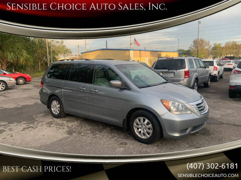 2008 Honda Odyssey for sale at Sensible Choice Auto Sales, Inc. in Longwood FL