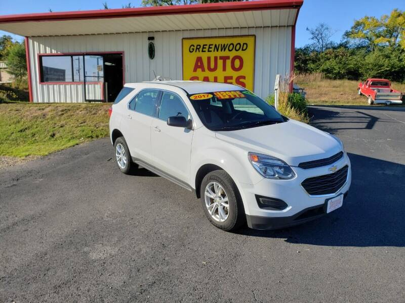 2017 Chevrolet Equinox for sale at Greenwood Auto Sales in Greenwood AR