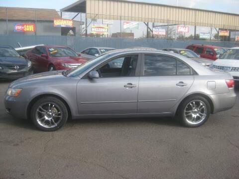 2008 Hyundai Sonata for sale at Town and Country Motors - 1702 East Van Buren Street in Phoenix AZ
