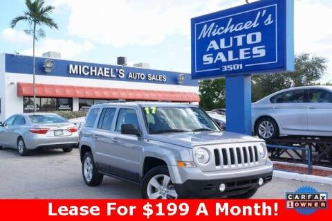 2017 Jeep Patriot for sale at Michael's Auto Sales Corp in Hollywood FL