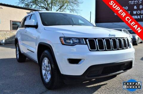 2018 Jeep Grand Cherokee for sale at LAKESIDE MOTORS, INC. in Sachse TX