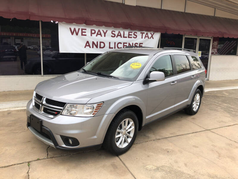 2016 Dodge Journey for sale at BRAMLETT MOTORS in Hope AR